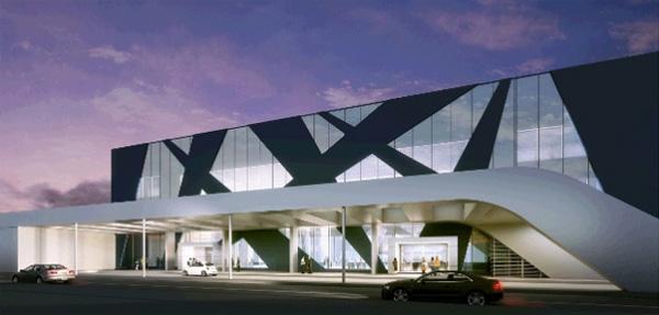 Noul terminal plecari Aeroportul Otopeni