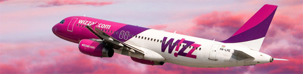 Compania low cost Wizzair